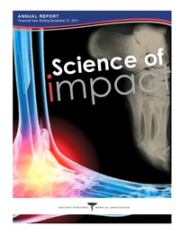 online magazine - OPMA Annual Report 2011, Science of Impact