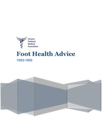 online magazine - OPMA Foot Health Advice, 1993 - 1995