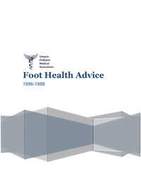 online magazine - OPMA Foot Health Advice, 1996 - 1998
