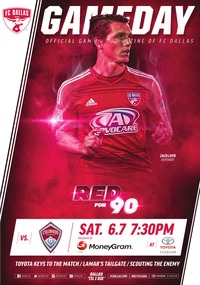 online magazine - Matchday Magazine Week 16: FC Dallas vs. Colorado Rapids