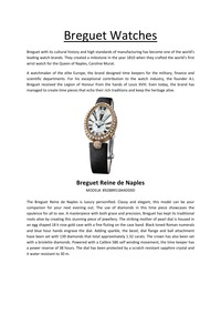 online magazine - Breguet Watches - Vol1