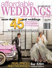 online magazine - Affordable Weddings Issue 2