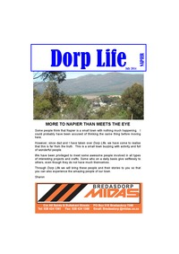 online magazine - Dorp Life - July 2014 Edition
