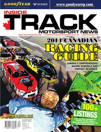 online magazine - Inside Track Motorsport News • Vol 18, Iss 4 • June Special 2014