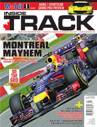 online magazine - Inside Track Motorsport News • Vol. 18, Iss. 5 • August 2014