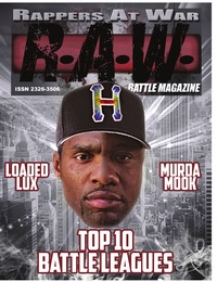 online magazine - R.A.W. ( BATTLE MAGAZINE ) VOL # 3