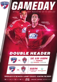 online magazine - 8/9/14 FC Dallas vs. Colorado Rapids