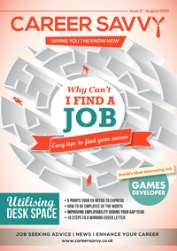 online magazine - Career Savvy Magazine August Issue