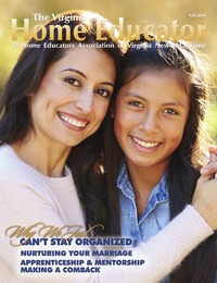 online magazine - The Virginia Home Educator Fall Issue 20-3