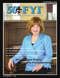 online magazine - 50Plus FYI Magazine Fall/Winter 2014-15
