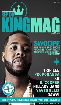 online magazine - Rep Da King Mag Swoope Edition