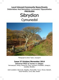 online magazine - Sibrydion Cymuned October /November 2014