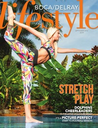 online magazine - Boca/Delray Lifestyle September 2016