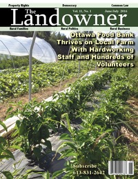 online magazine - The Landowner Magazine - June / July 2016 Volume 11 Number 1