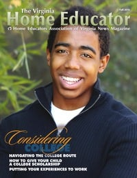 online magazine - The Virginia Home Educator Fall 2016 22-3