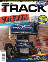 online magazine - Inside Track Motorsport News • Vol 20, Iss 07 • Oct. 2016
