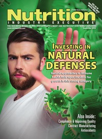 online magazine - Nutrition Industry Executive September 2016