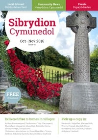 online magazine - Sibrydion Cymuned October November 2016 high quality