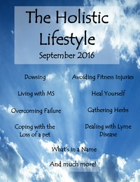 online magazine - The Holistic Lifestyle, September 2016