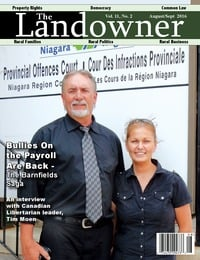 online magazine - The Landowner Magazine - Aug. / Sept. 2016 Volume 11 Number 2