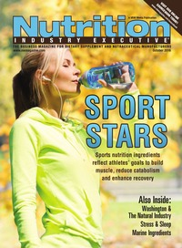 online magazine - Nutrition Industry Executive October 2016