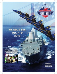 online magazine - San Francisco Fleet Week Digital Souvenir Program
