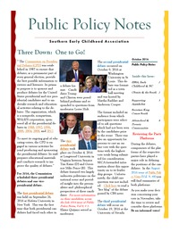 online magazine - Public Policy Notes Volume 9, Issue 10