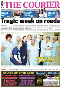 online magazine - The Courier, Thursday, October 20, 2016