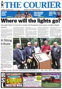online magazine - The Courier, Thursday, October 27, 2016