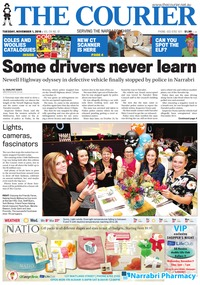 online magazine - The Courier and Wee Waa News, Tuesday, November 1, 2016