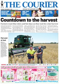 online magazine - The Courier and Wee Waa News, November 8, 2016