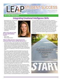online magazine - McLennan Community College Leap Student Success News Nov/Dec 2016