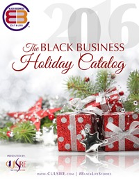 online magazine - 2016 Black Business Holiday Catalog