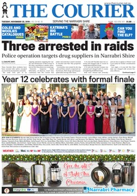 online magazine - The Courier and Wee Waa News, Tuesday, November 22, 2016