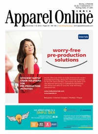 online magazine - Appparel Online India Dec'16