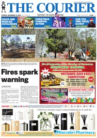 online magazine - The Courier and Wee Waa News, Tuesday, December 13, 2016