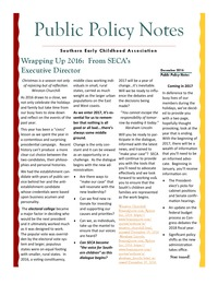 online magazine - Public Policy Notes Volume 9, Issue 12
