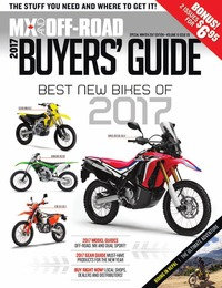 online magazine - 2017 MX And Off-Road Buyers' Guide