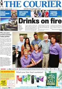 online magazine - The Courier and Wee Waa News, January 10, 2017