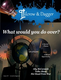 online magazine - Sneak Peek Pilcrow 7 Dagger January 2017