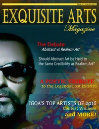 online magazine - Exquisite Arts Magazine- Issue 4- Jan/ Feb 2017