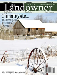online magazine - The Landowner Magazine - Dec. / Jan. 2017 Volume 11 Number 4