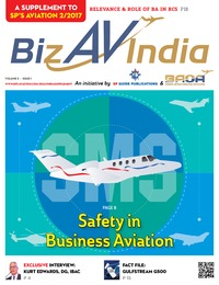 online magazine - BizAvIndia 1 - 2017 - A Supplement to SP's Aviation 2/2017