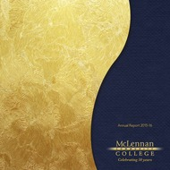 online magazine - Annual Report 2015-16 McLennan Community College