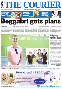 online magazine - The Courier and Wee Waa News, February 28, 2017