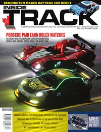 online magazine - Inside Track Motorsport News • Vol 21, Iss 01 • Apr. 2017