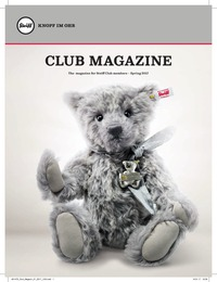 online magazine - Steiff_Club_Mag_2017_Issue_1
