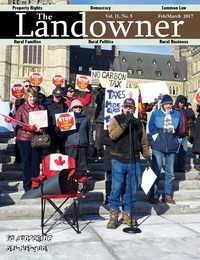 online magazine - The Landowner Magazine - Feb. / Mar. 2017 Volume 11 Number 5