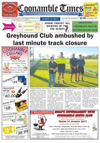 online magazine - Coonamble Times March 29, 2017