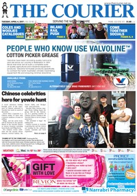 online magazine - The Courier and Wee Waa News, April 4, 2017